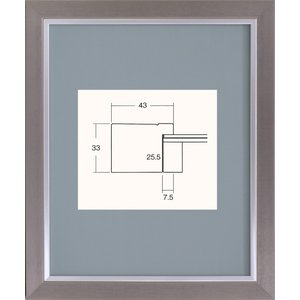 額縁 アートフレーム 書道額縁 樹脂製 8138 半懐紙サイズ|touo