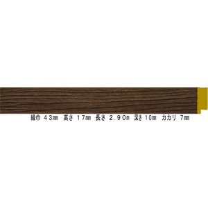 額縁 オーダーメイド額縁 オーダーフレーム 油絵用額縁 8217 ブラウン 組寸サイズ1000 F10 P10 M10|touo