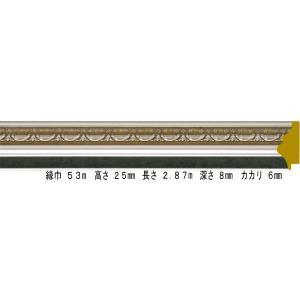 額縁 オーダーメイド額縁 オーダーフレーム デッサン用額縁 9586 S/グリーン 組寸サイズ400|touo