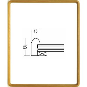 額縁 横長の額縁 木製フレーム 9755 サイズ890X340mm|touo