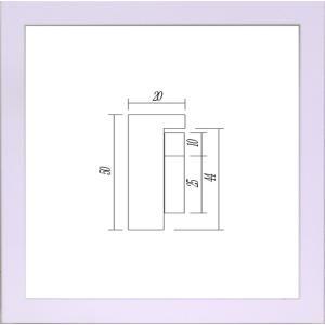 額縁 正方形の額縁 木製フレーム 9790 450角サイズ|touo