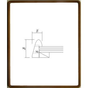 デッサン額縁 フレーム 水彩額縁 スケッチ手ぬぐい額縁 アートフレーム 横長額縁 木製 9795 サイズ900X450mm|touo