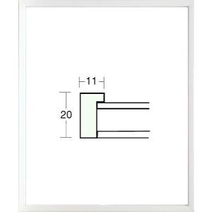 額縁 デッサン額縁 木製フレーム 5382 半切サイズ|touo