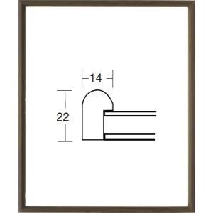 額縁 デッサン額縁 木製フレーム 5547 八ッ切サイズ|touo