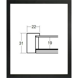 デッサン額縁 フレーム 水彩額縁 スケッチ額縁 木製 正方形の額縁 5660 450角サイズ|touo