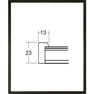 額縁 デッサン額縁 アートフレーム 木製 5767 八ッ切サイズ|touo