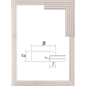 額縁 OA額縁 ポスター額縁 木製フレーム 5895 A1サイズ 841X594mm|touo