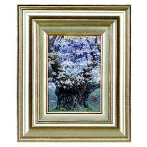 絵画 壁掛け 版画 リトグラフ 広森 雄作 「淡墨桜(刻の回廊)」|touo