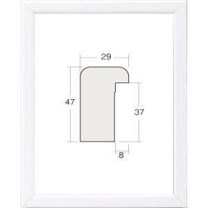 額縁 油彩額 油絵額縁 木製フレーム 仮縁 仮縁 出展用木製仮縁 3493 サイズ P8号|touo