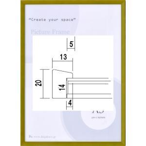 額縁 OA額 ポスター額縁 木製フレーム 5891 A4サイズ 297X210mm touo