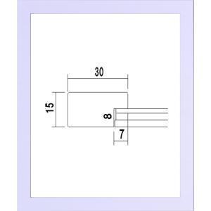 額縁 OA額縁 ポスター額縁 木製 5906 カラーパネル B4サイズ 364X257mm|touo
