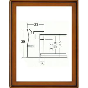 額縁 油絵額縁 油彩額縁 多目的額縁 木製フレーム ガラス付 9105 サイズSM|touo