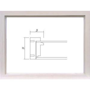 額縁 フォトフレーム 写真立て 木製フレーム ガラス付 9978 ハガキサイズ|touo