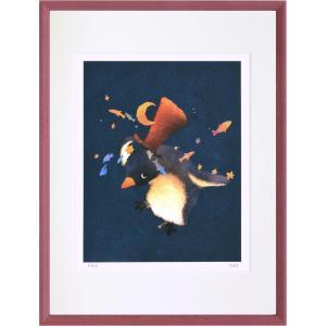 絵画 デジタル版画 インテリア 壁掛け (額縁 アートフレーム付き) 菜生作 「Magic」 太子サイズ|touo