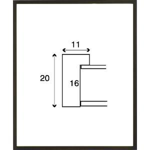 額縁 正方形の額縁 木製フレーム 6708 150角サイズ|touo