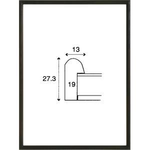 額縁 正方形の額縁 木製フレーム 6710 200角サイズ|touo