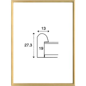 額縁 正方形の額 木製フレーム 6710 250角サイズ|touo