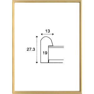 額縁 正方形の額縁 木製フレーム 6710 350角サイズ|touo