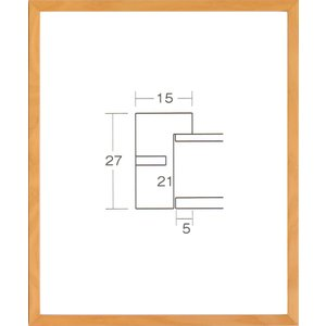 額縁 デッサン額縁 木製フレーム 6738 大判サイズ touo
