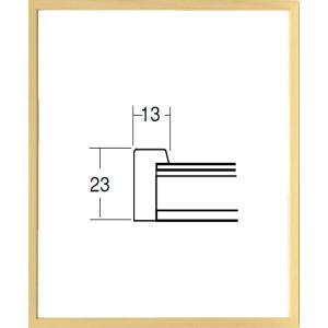 額縁 デッサン額 木製フレーム UVカットアクリル仕様  5767N 八ッ切サイズ|touo