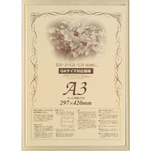 額縁 OA額縁 ポスター額縁 木製フレーム 7910 A4サイズ|touo
