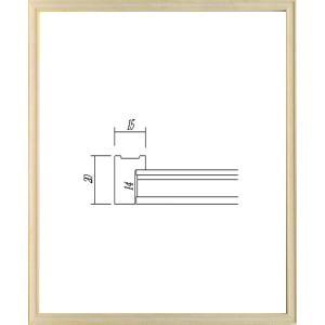 額縁 デッサン額縁 アートフレーム 木製 7910 八ッ切サイズ|touo