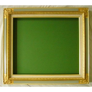 額縁 油絵額縁 油彩額縁 成型フレーム  8904 サイズF0号|touo