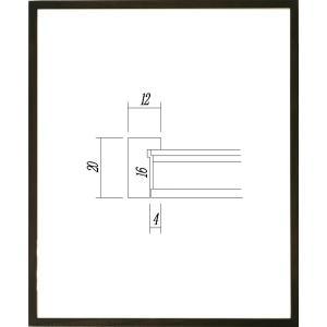 額縁 正方形の額縁 木製フレーム 9102 200角サイズ|touo