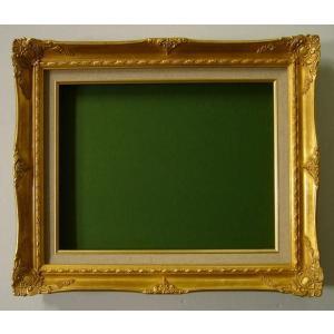額縁 油絵額縁 油彩額縁 木製フレーム 9232N サイズF4号|touo