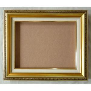 額縁 油彩額 油絵額縁 フレーム 9586 サイズF3号|touo