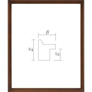 額縁 正方形の額縁 アクリル仕様 9787 400角サイズ|touo