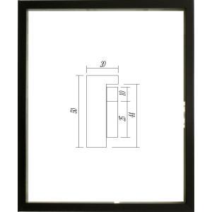 額縁 正方形の額縁 木製フレーム 9790 250角サイズ|touo