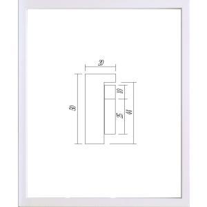 額縁 正方形の額 木製フレーム 9790 250角サイズ|touo