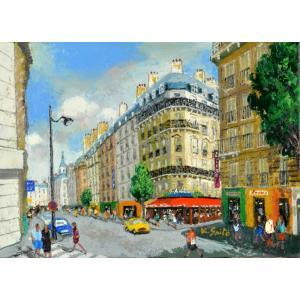 絵画 油絵 肉筆絵画 壁掛け ( 油絵額縁 アートフレーム付きで納品対応可 ) NO.5 SMサイズ 「パリの街(1)」 斎藤 要|touo