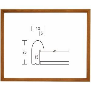 額縁 デッサン額縁 木製フレーム D型 八ッ切サイズ|touo