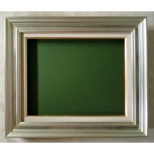 額縁 油絵額縁 油彩額縁 木製フレーム 回廊 サイズWF4号|touo