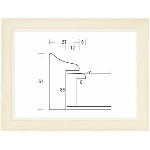 額縁 油絵額縁 油彩額縁 木製フレーム キュート サイズM80号|touo