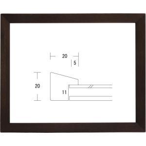 額縁 デッサン額縁 木製フレーム L-SHA-20 八ッ切サイズ|touo