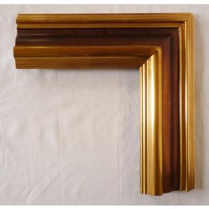 油絵額縁 油彩額縁 アートフレーム 木製 仮額縁 大型額縁 MJ-4 サイズM30号|touo