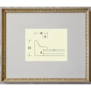 額縁 デッサン額縁 アートフレーム 木製 パピルス インチサイズ|touo
