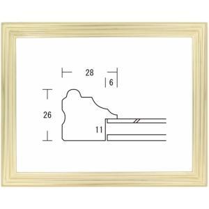 額縁 デッサン額 木製フレーム プリメーラ カンソンサイズ|touo