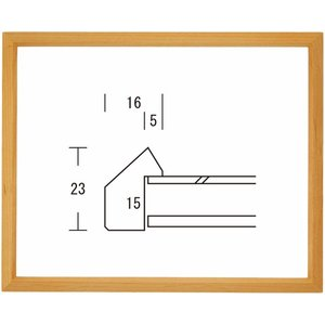 額縁 デッサン額縁 木製フレーム 桜三角 インチサイズ|touo