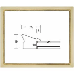 額縁 横長の額縁 木製フレーム 翼 サイズ150X300mm|touo
