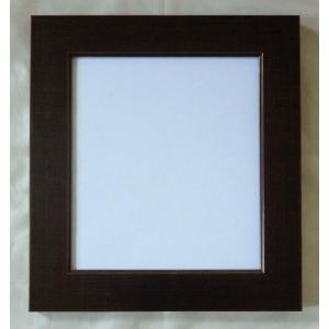 額縁 アートフレーム 色紙額縁 風雅 8×9 ブラウン 箱入|touo
