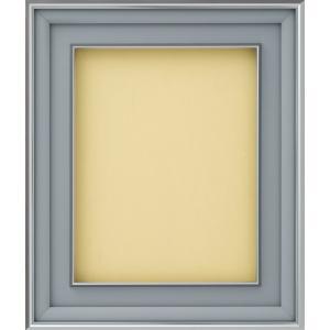 額縁 油彩額 油絵額縁 アルミフレーム 8182 Bマット シルバー サイズS30号|touo