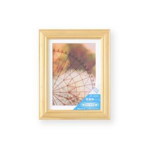 額縁 フォトフレーム 写真額縁 木製フレーム ベルン ナチュラル サイズ2L|touo