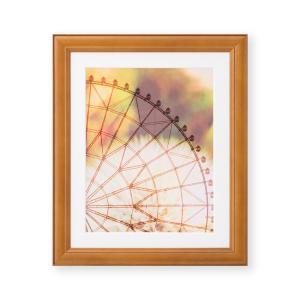 額縁 フォトフレーム 写真額縁 木製フレーム ベルン サイズ6切 ブラウン|touo