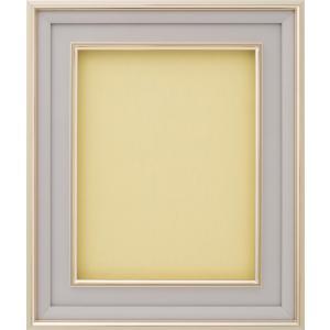 額縁 油彩額 油絵額縁 アルミフレーム DA-603 Aマット ゴールド サイズM4号|touo