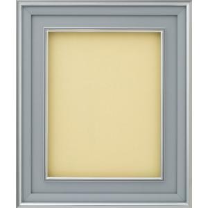 額縁 油絵額縁 油彩額縁 正方形の額縁 DA-603 Aマット シルバー サイズS0号|touo