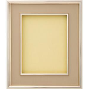 額縁 油彩額 油絵額縁 アルミフレーム DA501 Aマット ゴールド サイズM0号|touo
